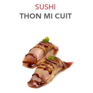 Sushi Thon mi cuit - 4.10€ / 2 Pcs
