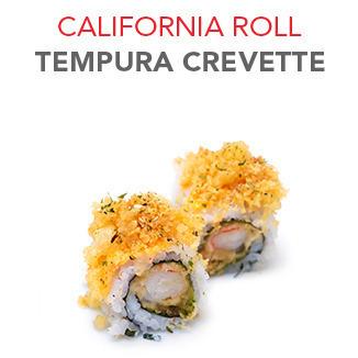 California Roll Tempura crevette - 7.45€ / 8 Pce