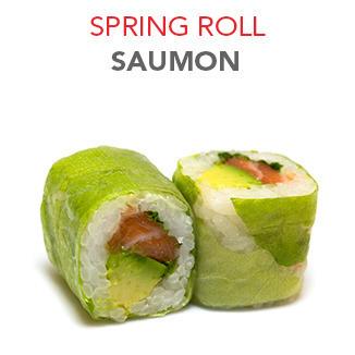 Spring Roll Saumon - 5.90€ / 6 Pce