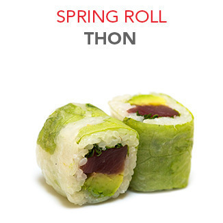 Spring Roll Thon - 6.40€ / 6 Pce