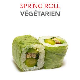 Spring Roll Végétarien - 5.85€ / 6 Pce