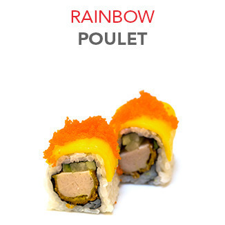 Rainbow Poulet - 7.05 € / 6 Pce