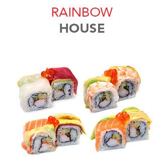Rainbow House - 10.15€ / 8 Pce