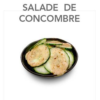 Salade de concombre 2.80 € / Pce