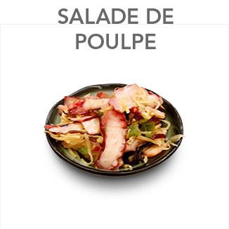Salade de poulpes et légumes - 4.25 €