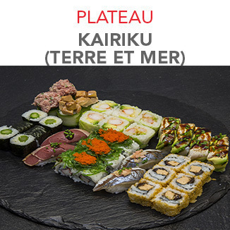 Plateau Kairiku - 51.70€ / 42 Pcs / 2 Pers