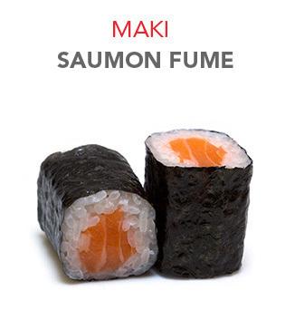 Maki Saumon fumé - 4.55€ / 6 Pcs