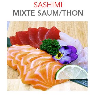 Sashimi Mixte - 17.40 € / 15 Pces