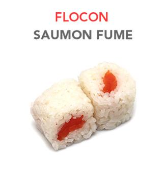 Flocon Saumon Fumé - 5.50€ / 6 Pcs