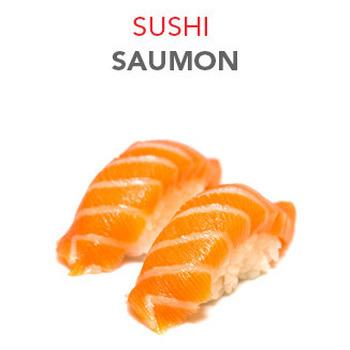 Sushi Saumon - 3.50€ / 2 Pcs
