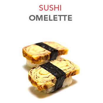 Sushi Omelette - 3.50€ / 2 Pcs