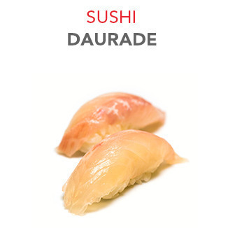 Sushi Daurade - 3.50€ / 2 Pcs
