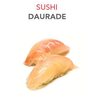 Sushi Daurade - 3.50€ / 2 Pcs