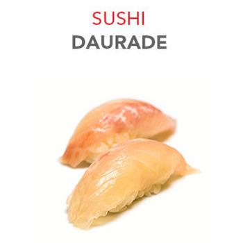 Sushi Daurade - 2 Pcs