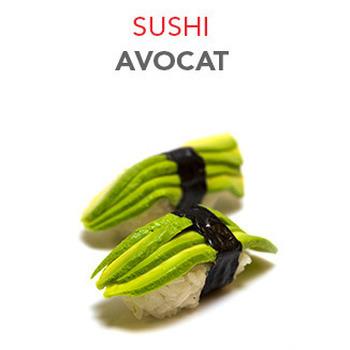 Sushi Avocat - 2.70€ / 2 Pcs