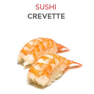 Sushi Crevette - 4.00€ / 2 Pcs