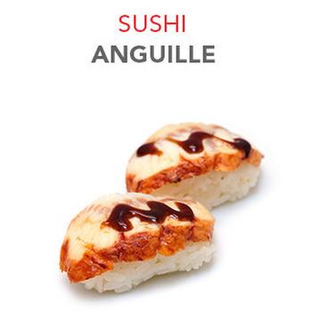 Sushi Anguille - 4.50€ / 2 Pcs