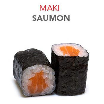 Maki Saumon - 4.50€ / 6 Pce