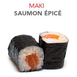 Maki Saumon épicé - 5.00€ / 6 Pce