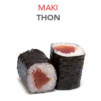 Maki Thon - 5.30€ / 6 Pce