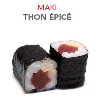 Maki Thon épicé - 5.50€ / 6 Pce