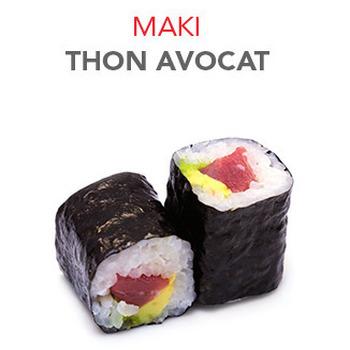 Maki Thon avocat - 5.60€ / 6 Pce