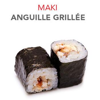 Maki Anguille grillée - 5.70€ / 6 Pce