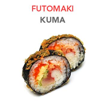 Futomaki Kuma (Frit) - 9.30€ / 6 Pcs