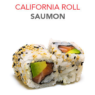 California Roll Saumon - 5.10€ / 6 Pce