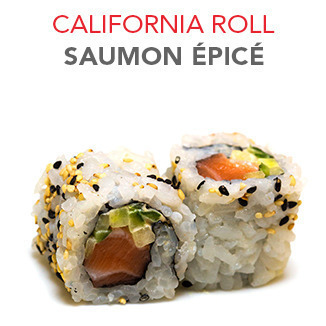 California Roll Saumon épicé - 5.10€ / 6 Pce