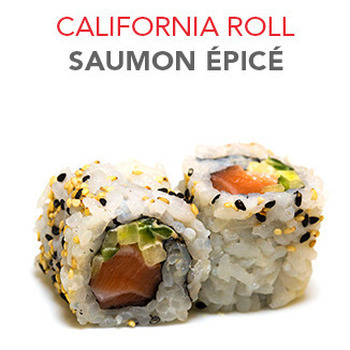 California Roll Saumon épicé - 5.10€ / 6 Pce
