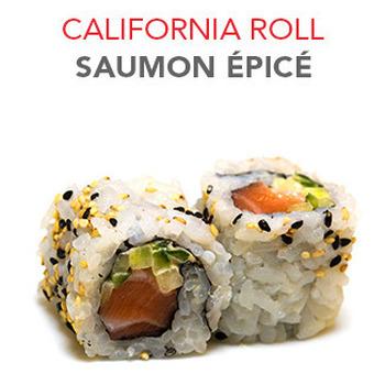 California Roll Saumon épicé - 6 Pcs