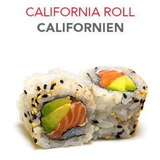 California Roll Californien - 5.40€ / 6 Pce