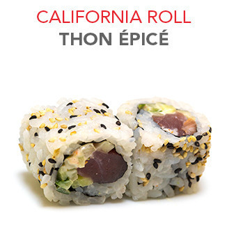 California Roll Thon épicé - 5.60€ / 6 Pce
