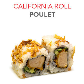 California Roll Poulet - 5.30€ / 6 Pce