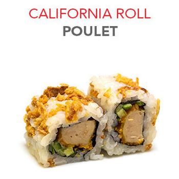 California Roll Poulet - 6 Pcs