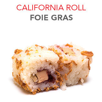 California Roll Foie gras - 7.00€ / 6 Pce