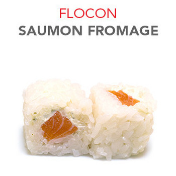 Flocon Saumon fromage - 5.50€ / 6 Pce