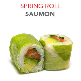 Spring Roll Saumon - 6.00€ / 6 Pce