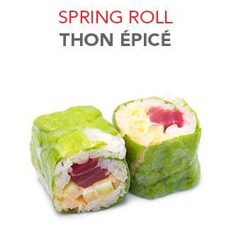 Spring Roll Thon épicé - 6.20€ / 6 Pce