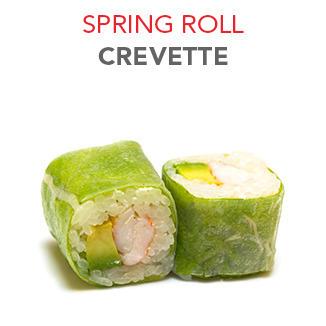 Spring Roll Crevette - 5.90€ / 6 Pce