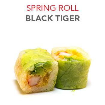 Spring Roll Black Tiger - 7.30€ / 6 Pce
