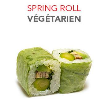 Spring Roll Végétarien - 5.90€ / 6 Pce