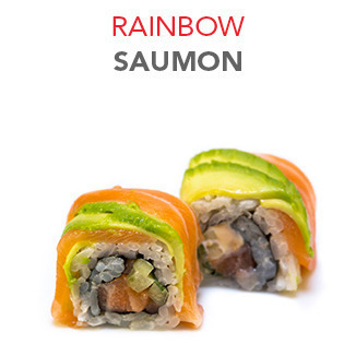Rainbow Saumon - 6.70€ / 6 Pce