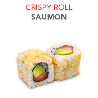 Crispy Roll Saumon - 6.00€ / 6 Pce