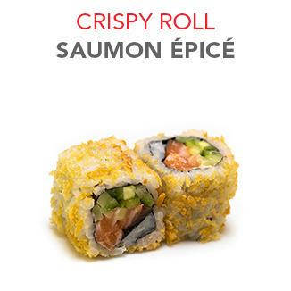 Crispy Roll Saumon épicé - 6.00€ / 6 Pce