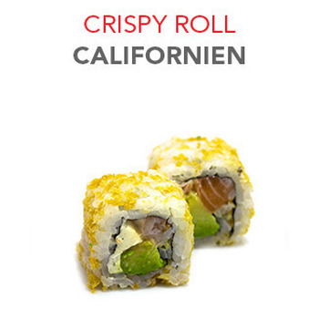 Crispy Roll Californien - 6.40€ / 6 Pce