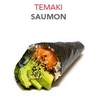 Temaki Saumon - 4.70€ / Pce
