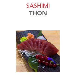 Sashimi Thon - 9.00€ / 8 Pce