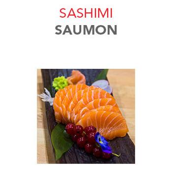 Sashimi Saumon - 8.50€ / 8 Pce